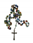 Rosenkranz aus Muranoglas
