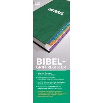 Bibelgriffregister mit Farbsystem
